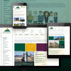 GPD Group website - designed and developed by Stofka Creative Ltd. in conjunction with FGM Media, Inc.