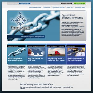 Transaver website - designed and developed by Stofka Creative Ltd. in conjunction with Tightrope Media Group