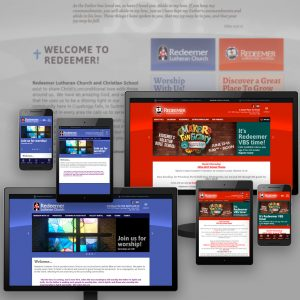 Redeemer Lutheran Church & School website - designed and developed by Stofka Creative Ltd.