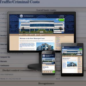 Stow Municipal Court website - designed and developed by Stofka Creative Ltd.